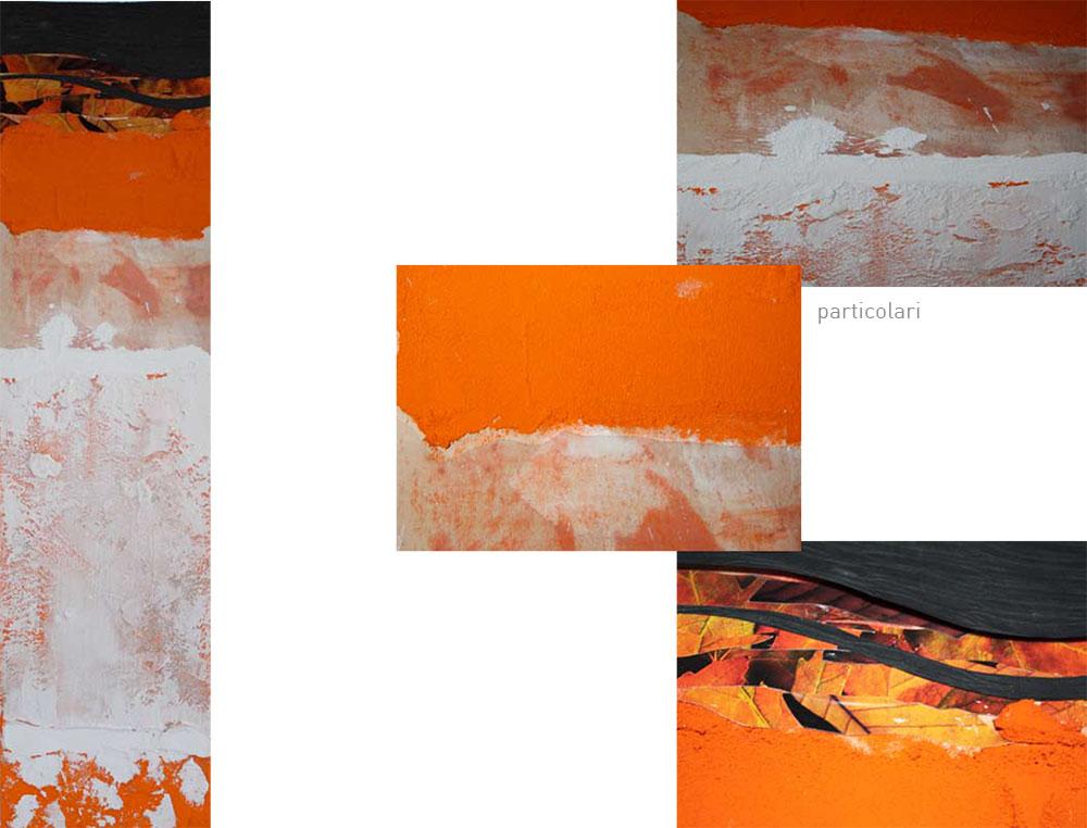 Dialogo con Arancio [5x98 cm]