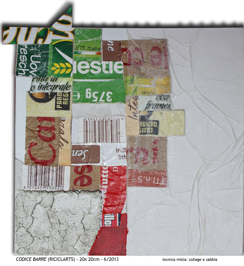 Codice Barre [20x20 cm]