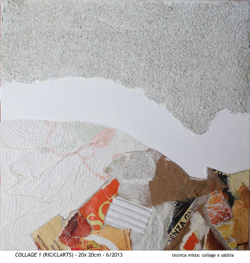 Collage 1 [20x20 cm]